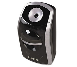 ELMER'S PRODUCTS, INC 1770 SharpX Portable Pencil Sharpener, Battery Operated, Black/Silver by ELMER'S PRODUCTS, INC.