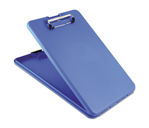 "Saunders Mfg. Co. Inc 00559 SlimMate Storage Clipboard, 1/2"" Capacity, Holds 8 1/2w x 12h, Blue by SAUNDERS MFG. CO., INC."