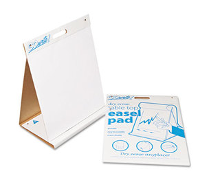 PACON CORPORATION TEP2023 GoWrite! Dry Erase Table Top Easel Pad, 20 x 23, 4 10-Sheet Pads/Carton by PACON CORPORATION