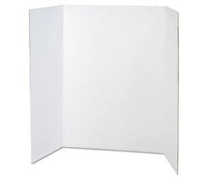 PACON CORPORATION 3763 Spotlight Presentation Board, 48 x 36, White, 24/Carton by PACON CORPORATION