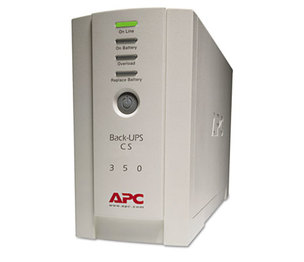 American Power Conversion Corp BK350 Back-UPS CS Battery Backup System Six-Outlet 350 Volt-Amps by AMERICAN POWER CONVERSION
