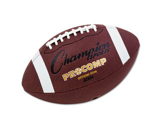"CHAMPION SPORTS CF100 Pro Composite Football, Official Size, 22"", Brown by CHAMPION SPORT"