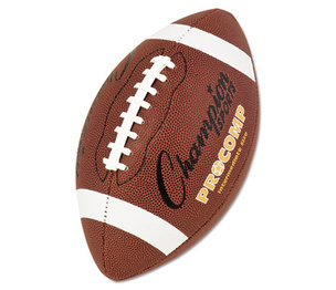 "CHAMPION SPORTS CF200 Pro Composite Football, Intermediate Size, 21"", Brown by CHAMPION SPORT"