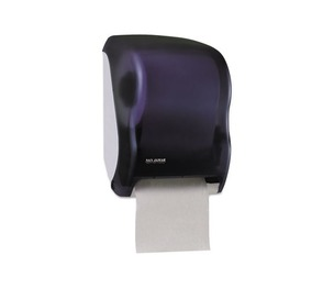 THE COLMAN GROUP, INC T1300TBK Electronic Touchless Roll Towel Dispenser, 11 3/4 x 9 x 15 1/2, Black by THE COLMAN GROUP, INC