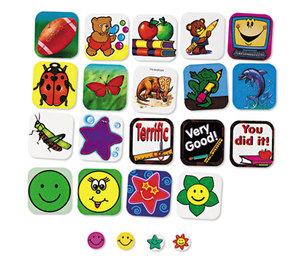 TEACHER CREATED RESOURCES 4226 Sticker Book, For All Reasons, 1,008/Pack by TEACHER CREATED RESOURCES