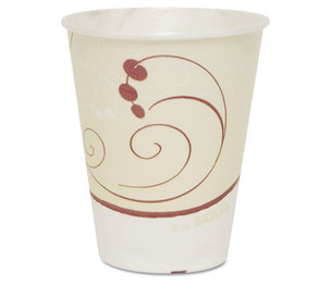 SOLO SCC OFX10N Symphony Trophy Plus Dual Temperature Cups, 10oz, 50/Sleeve, 6 Sleeves/Carton by SOLO CUPS