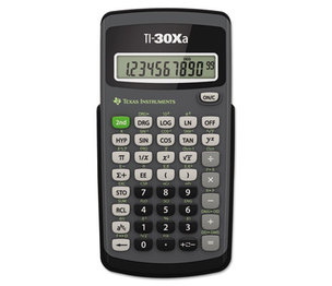 TEXAS INSTRUMENTS INC. TI30XA TI-30Xa Scientific Calculator, 10-Digit LCD by TEXAS INSTRUMENTS