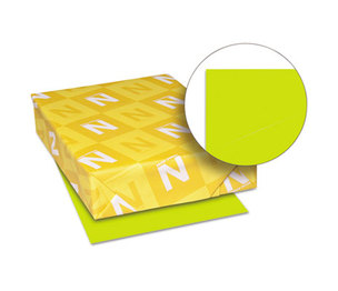 Neenah Paper, Inc 22781 Astrobrights Colored Card Stock, 65 lb., 8-1/2 x 11, Terra Green, 250 Sheets by NEENAH PAPER