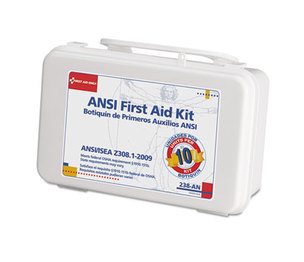 First Aid Only, Inc 238-AN ANSI-Compliant First Aid Kit, 64 Pieces, Plastic Case by FIRST AID ONLY, INC.
