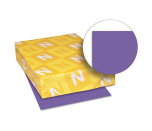 Neenah Paper, Inc 21971 Astrobrights Colored Card Stock, 65 lb., 8-1/2 x 11, Gravity Grape, 250 Sheets by NEENAH PAPER