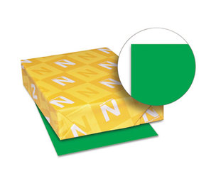 Neenah Paper, Inc 22741 Astrobrights Colored Card Stock, 65 lb., 8-1/2 x 11, Gamma Green, 250 Sheets by NEENAH PAPER