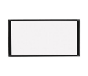 Bi-silque S.A MA10007705 Cubicle Workstation Dry Erase Board, 36 x18, Black Aluminum Frame by BI-SILQUE VISUAL COMMUNICATION PRODUCTS INC