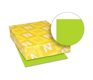 Neenah Paper, Inc 21859 Astrobrights Colored Paper, 24lb, 8-1/2 x 11, Vulcan Green, 500 Sheets/Ream by NEENAH PAPER