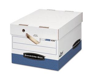 Fellowes, Inc 0063601 PRESTO Maximum Strength Storage Box, Ltr/Lgl, 12 x 15 x 10, White, 12/Carton by FELLOWES MFG. CO.