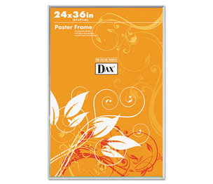 DAX MANUFACTURING INC. 281136T U-Channel Poster Frame, Contemporary Clear Plastic Window, 24 x 36, Clear Border by DAX MANUFACTURING INC.