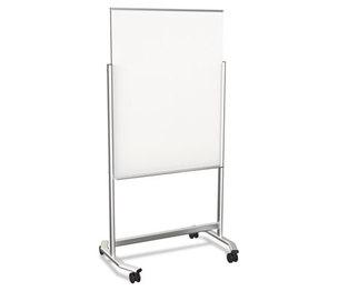 BALT INC. 74950 Glass Dry Erase Easel, 36 x 48, Aluminum Frame by BALT INC.