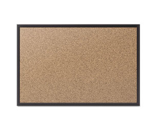Quartet 2303B Classic Cork Bulletin Board, 36x24, Black Aluminum Frame by QUARTET MFG.