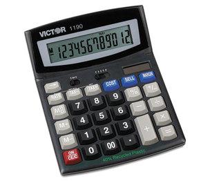 Victor Technology, LLC 1190 1190 Executive Desktop Calculator, 12-Digit LCD by VICTOR TECHNOLOGIES