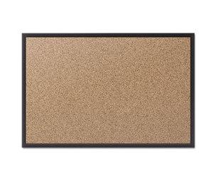 Quartet 2304B Classic Cork Bulletin Board, 48x36, Black Aluminum Frame by QUARTET MFG.