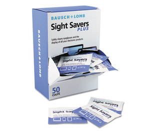 Bausch & Lomb, Inc 628041 Pre-Moistened Electronic Cleaning Tissues, 50 Tissues/Pack by BAUSCH & LOMB, INC.