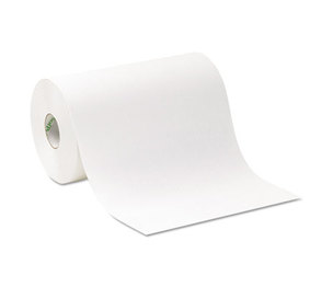 "Georgia Pacific Corp. 26609 Hardwound Roll Paper Towel, Nonperforated, 9"" x 500 ft, White, 6/Carton by GEORGIA PACIFIC"