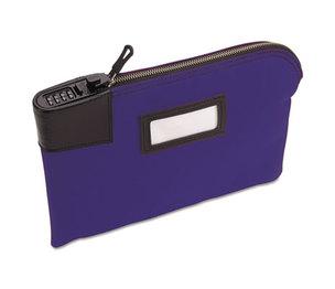 MMF INDUSTRIES 2330881MXW08 Classic Combination Deposit Bag, 11 x 1 x 8 1/2, Durablock, Blue by MMF INDUSTRIES