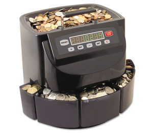 MMF INDUSTRIES 200200C Coin Counter/Sorter, Pennies through Dollar Coins by MMF INDUSTRIES