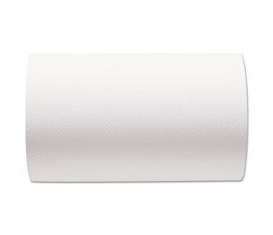 Hardwound Paper Towel Roll, Nonperforated, 9 x 400ft, White, 6 Rolls/Carton by GEORGIA PACIFIC