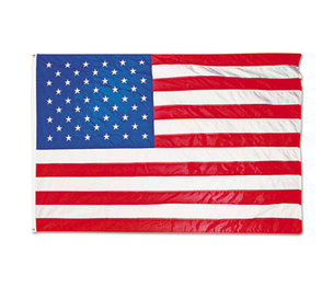 Advantus Corporation MBE002270 All-Weather Outdoor U.S. Flag, Heavyweight Nylon, 5 ft x 8 ft by ADVANTUS CORPORATION