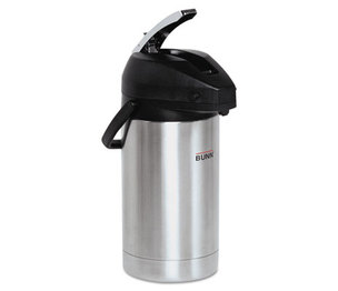 Bunn-O-Matic Corporation 32130.0000 Lever Action Airpot, 3 Liter, Stainless Steel by BUNN-O-MATIC