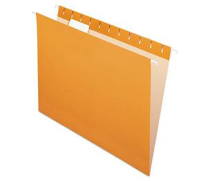 Cardinal Brands, Inc 81607 Essentials Colored Hanging Folders, 1/5 Tab, Letter, Orange, 25/Box by ESSELTE PENDAFLEX CORP.
