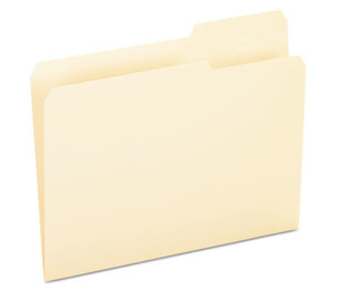 ESSELTE CORPORATION 752-1/3-3 File Folders, 1/3 Cut, Third Position, Top Tab, Letter, Manila, 100/Box by ESSELTE PENDAFLEX CORP.