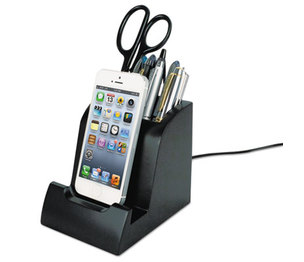 Victor Technology, LLC PH700 Smart Charge Dock with Pencil Cup for Apple Lightning Devices by VICTOR TECHNOLOGIES