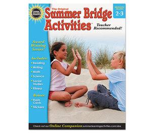 Carson-Dellosa Publishing Co., Inc 904158 Summer Bridge Activities, Grades 2-3 by CARSON-DELLOSA PUBLISHING
