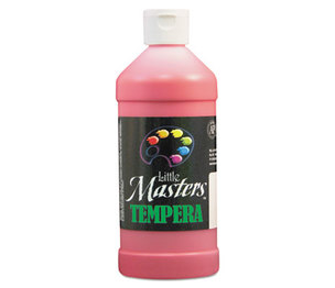 Tempera Paint, Red, 16 oz by ROCK PAINT DISTRIBUTING CORP.