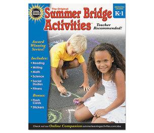 Carson-Dellosa Publishing Co., Inc 904156 Summer Bridge Activities, Grades K-1 by CARSON-DELLOSA PUBLISHING