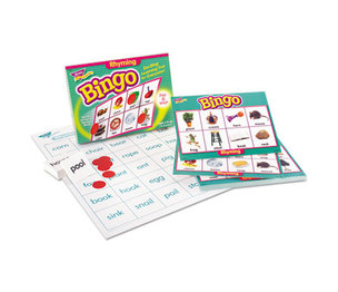TREND ENTERPRISES, INC. T6067 Young Learner Bingo Game, Rhyming Words by TREND ENTERPRISES, INC.