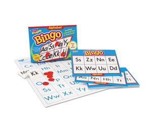 TREND ENTERPRISES, INC. T6062 Young Learner Bingo Game, Alphabet by TREND ENTERPRISES, INC.
