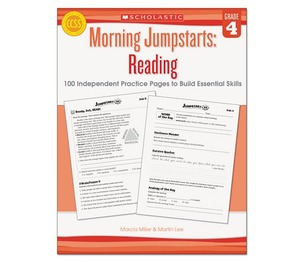 Scholastic 546423 Morning Jumpstart Series Book, Reading, Grade 4 by SCHOLASTIC INC.