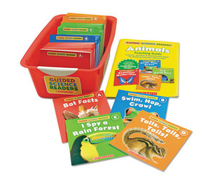 Scholastic 544272 Guided Science Reader Super Set, Animals, Grades Pre K-1 by SCHOLASTIC INC.