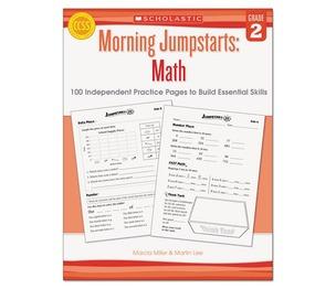 Scholastic 546415 Morning Jumpstart Series Book, Math, Grade 2 by SCHOLASTIC INC.