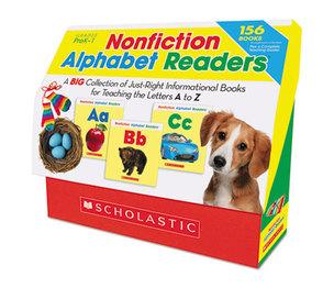 Scholastic 555426 Nonfiction Alphabet Readers, Grades PreK-1 by SCHOLASTIC INC.