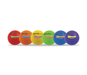 CHAMPION SPORTS SQVSET Super Squeeze Volleyball Set, Rhino Skin, Assorted, 6 Balls/Set by CHAMPION SPORT