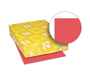Neenah Paper, Inc 22641 Astrobrights Colored Paper, 24lb, 8-1/2 x 11, Rocket Red, 500 Sheets/Ream by NEENAH PAPER