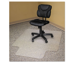 Advantus Corporation AVT-50121 Recycled Chair Mats For Carpets, 53 x 45, Slightly Tinted by ADVANTUS CORPORATION