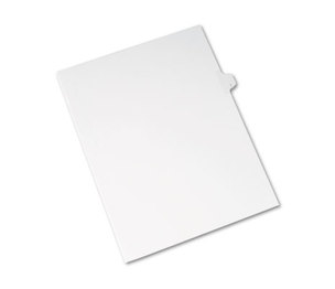 Avery 82171 Allstate-Style Legal Exhibit Side Tab Divider, Title: I, Letter, White, 25/Pack by AVERY-DENNISON