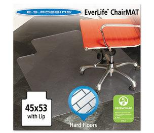 E.S. ROBBINS 132123 45x53 Lip Chair Mat, Multi-Task Series for Hard Floors, Heavier Use by E.S. ROBBINS