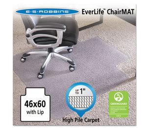 "E.S. ROBBINS 124375 46x60 Lip Chair Mat, 24-Hour Performance Series AnchorBar for Carpet up to 1"" by E.S. ROBBINS"