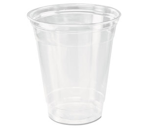 SOLO DCC TP12 CASE Ultra Clear Cups, Squat, 12-14 oz, PET, 50/Bag, 1000/Carton by DART