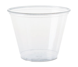 SOLO DCC TP9R Ultra Clear Cups, Squat, 9 oz, PET, 50/Bag, 1000/Carton by DART